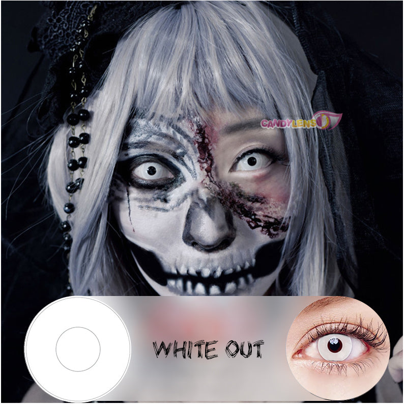 White Out Halloween Lens