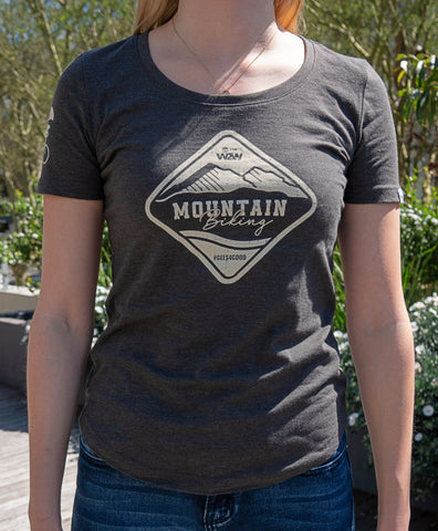Charity T-shirt Women's - Charcoal Melange