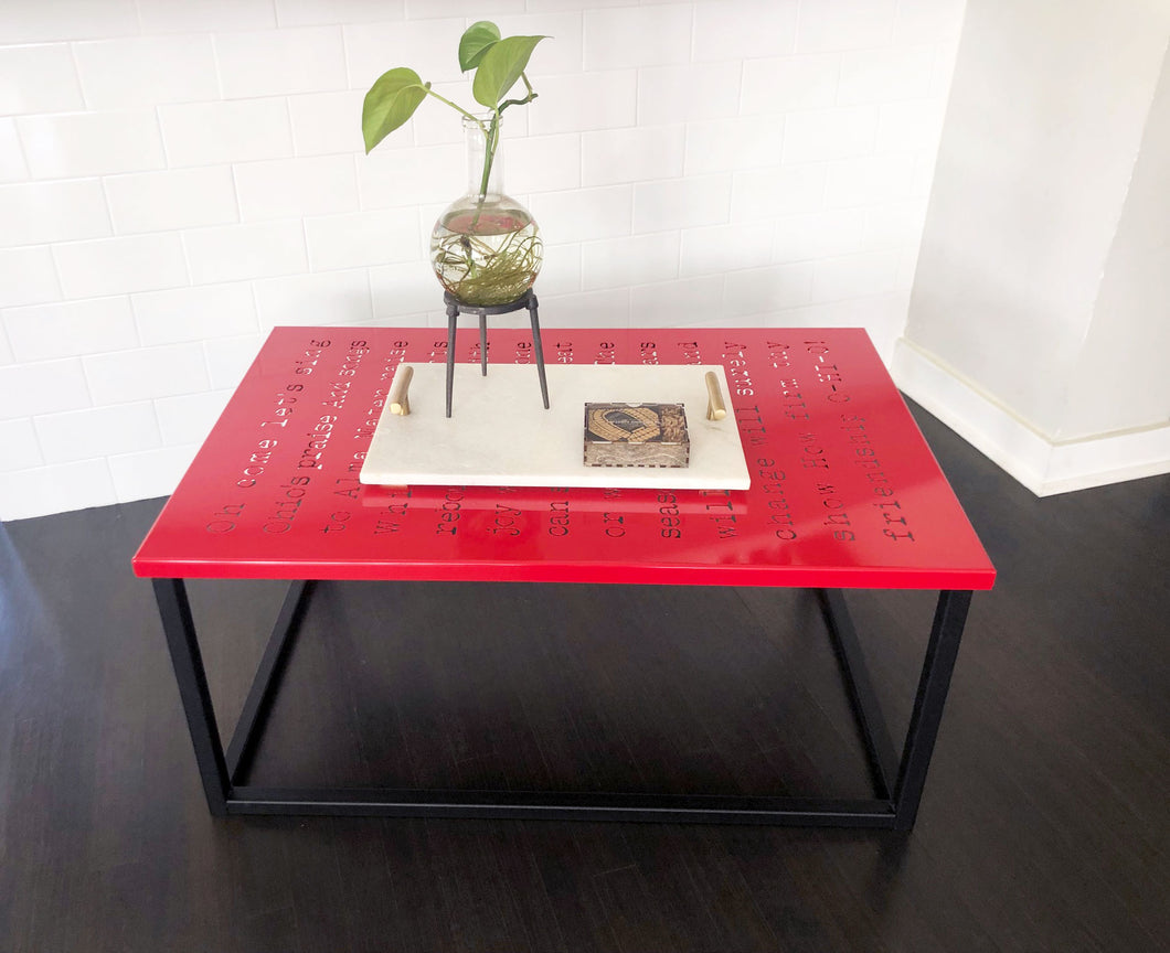 THE CARMEN COFFEE TABLE