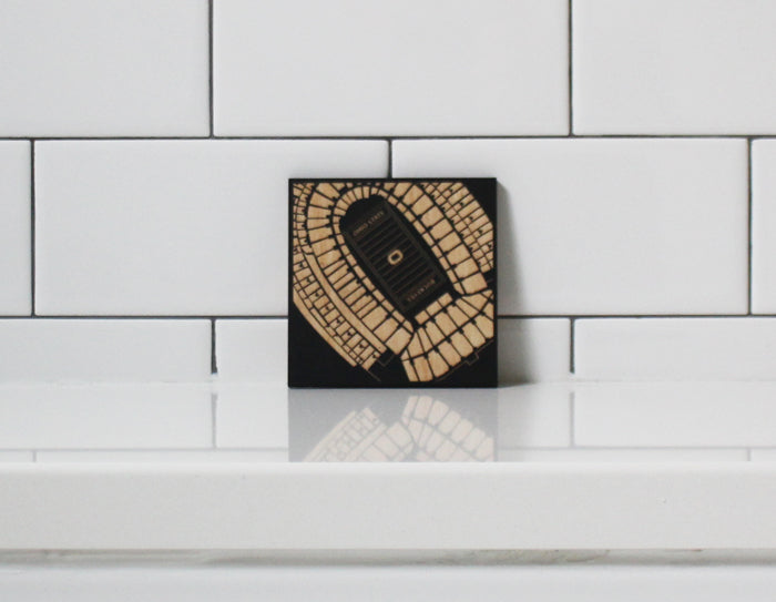 THE SHOE COASTERS (BLACK)
