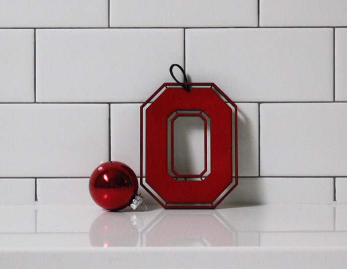 BLOCK 'O' ORNAMENT