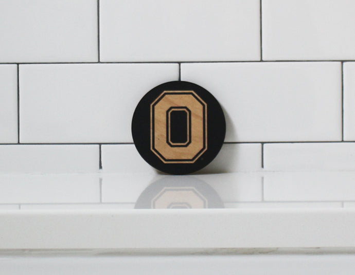 BLOCK 'O' PARTY COASTERS (BLACK)