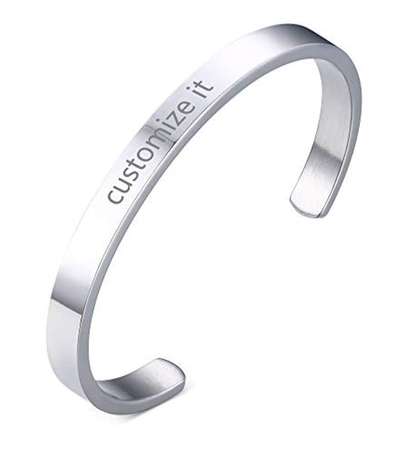 Personalized Stainless Steel bracelet
