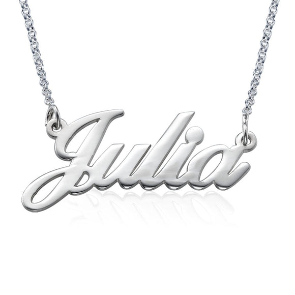 MyNameNecklace Classic Name Necklace Personalized-Custom Made Pendant Jewelry Gift for Her