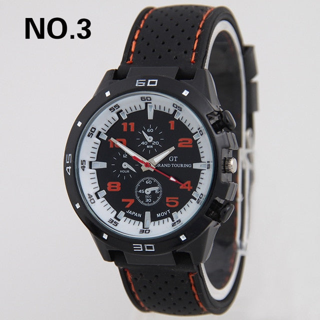 Silicone Sports Watch