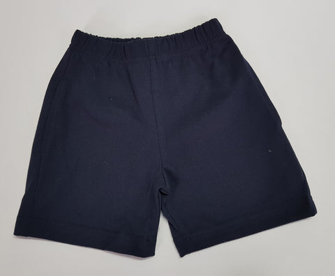Somers Navy Gaberdine Shorts
