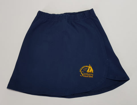 Somers Navy Skorts