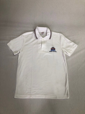 Patterson River VCE S/S Polo White
