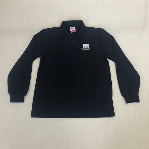 Patterson River L/S Polo Navy