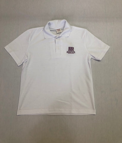 Patterson River S/S Polo White
