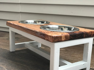 Farmhouse Style Pet Feeder
