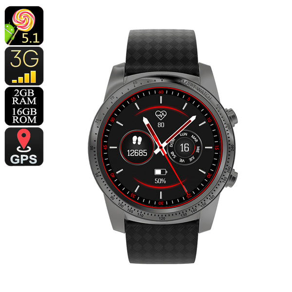 AllCall W1 Smart Watch Phone (Grey)