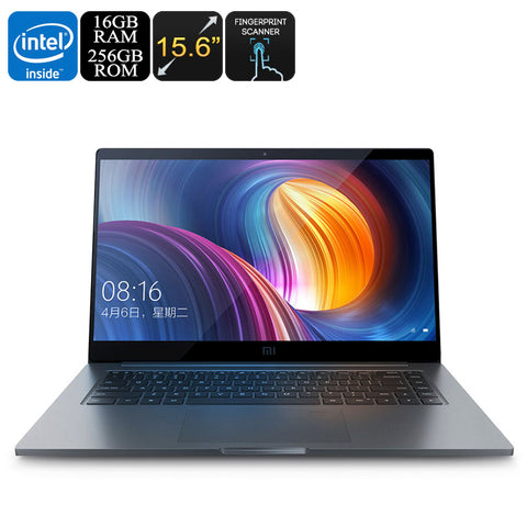 Xiaomi Mi Notebook Pro - Intel Core i7 CPU, 16GB DDR4 RAM, 256GB Storage, GeForce GPU, 15.6 Inch Screen, Fingerprint Scanner