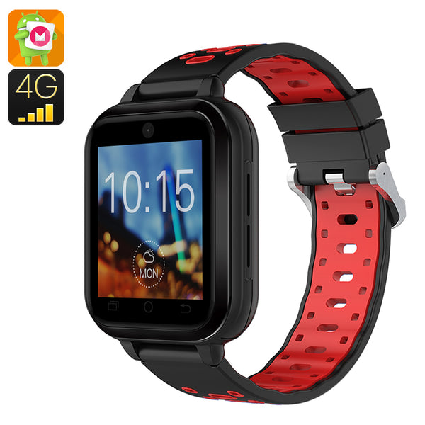 Finow Q1 Pro Android 4G Smart Watch (Red)