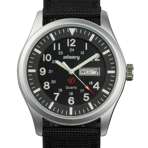 INFANTRY Men Watches Luminous Military Army Analog Date Day Sport Watch
