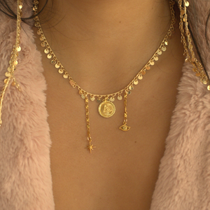The Cairo Coin Necklace