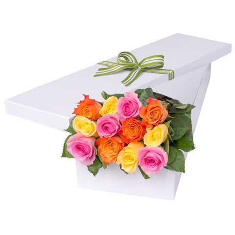 Gorgeous Roses in a Box