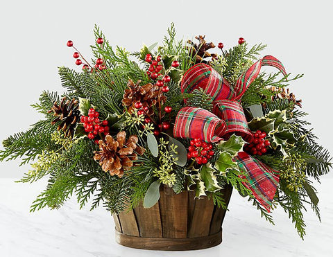 Winter Nature Basket