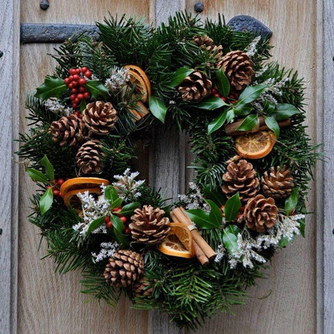 Fresh Signature Christmas Wreath