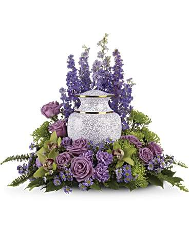 Meadow Memories Urn Flowers