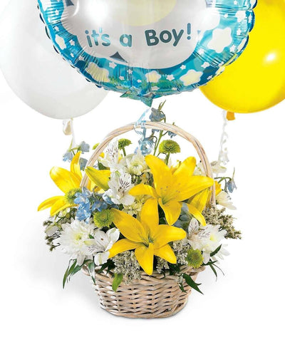 It's a Boy basket