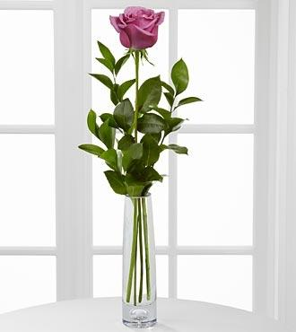 Chic Single Lavender Rose