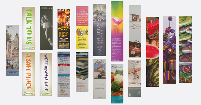 Collecting on a shoestring: Bookmarks