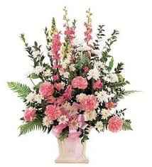 TF 185-2 White and Pink Arrangement