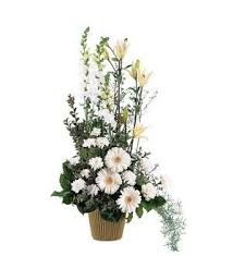 TF 194-2 Tall White Arrangement