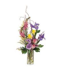 TF197-2 Spring Vase Arrangement