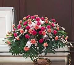 TF 198-4 Two-Tone Pink Casket Spray