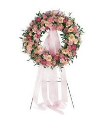 TF 199-3 Mixed Pink Wreath