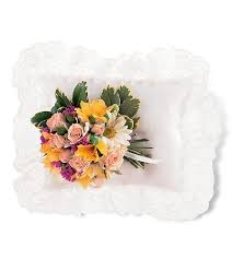 TF 199-6 Spring Flowers in Casket