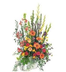 TF 203-1 Summer Flowers in Urn