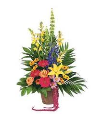 TF 203-9 Colorful Container Arrangement