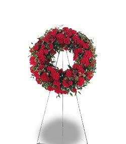 TF207-3 Small Red Wreath