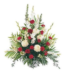 TF207-4 Red & White Arrangement