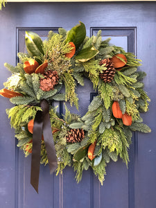 Deluxe Christmas Wreath 24""