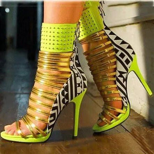 'Kelly' Strappy Heels - Clothing Buy Love