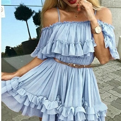 Hot Flare Party Dress Available Here!