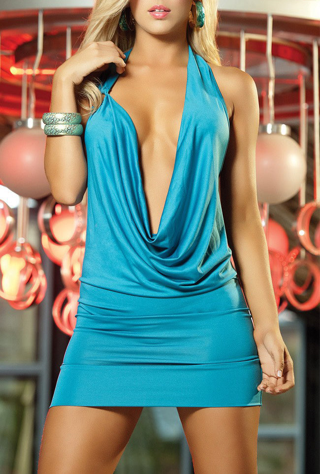 Evening Party Club  V-Neck Bandage Dress