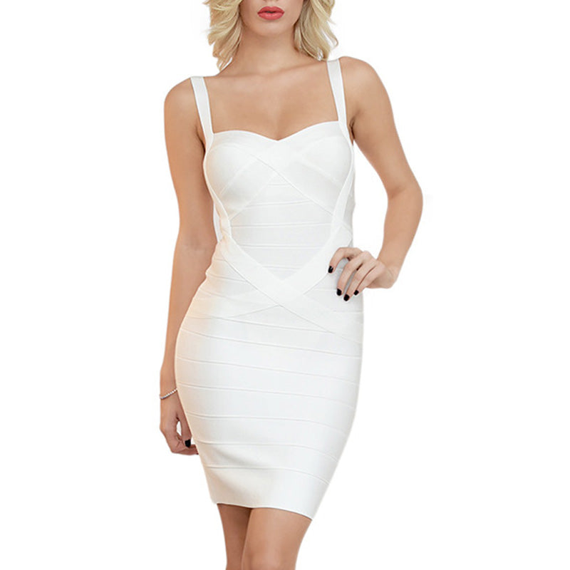 Alluring Club Party  Bandage Dress
