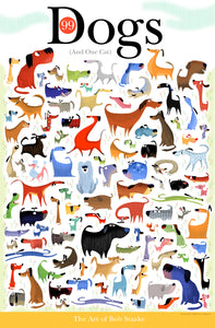 99 dogs and one cat