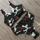 Fort Knox Camo Bikini Set