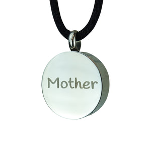 Mother Cremation Urn Pendant