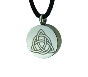 Celtic Unity Circle Cremation Urn Pendant