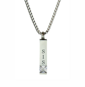 Sister Quantum Crystal Cremation Urn Pendant