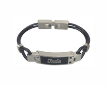 Uncle Contemporary Leather Urn Bracelet