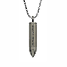 Brother Bullet Cremation Urn Pendant