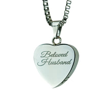 Beloved Husband Cremation Urn Pendant